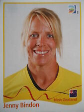 Panini 123 Jenny Bindon New Zealand FIFA Women's WM 2011 Germany