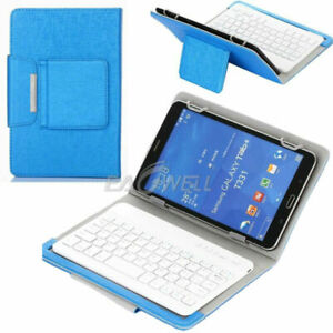 """Wireless Keyboard Flip Folio Leather Case Stand Cover For 9.7"""" 10"""" 10.1"""" Tablet"""