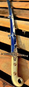 General Officer's Sword with Scabbard Replica (US Marine Corps Officer Sword) Ha