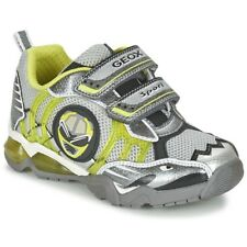 GEOX J SHUTTLE B. B Grey / Citron UK 7.5 EU 25 CH05 80 SALEx