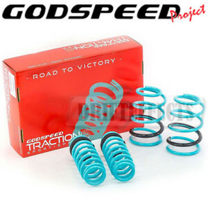 GODSPEED TRACTION-S SPRINGS FOR BMW 128I 135I 1M 1 SERIES 2007-2013 COUPE E82