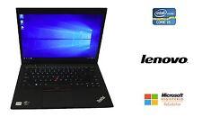 "Lenovo ThinkPad X1 Carbon 14"" Ultrabook Core i5 4GB RAM 128GB SSD Webcam Win 10"