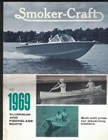 Smoker-Craft 1969 Aluminum & Fiberglass Boats Brochure