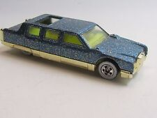 Hot Wheels Turquoise LIMOZEEN with glitter & Gold base & Basic Wheels from 1992