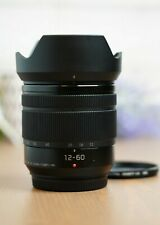 Panasonic Lumix G Vario 12-60mm f/3.5-5.6 ASPH. POWER O.I.S. Lens w/Hood &Filter