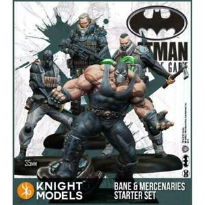 Batman Miniature Game: Bane and Mercenaries Set