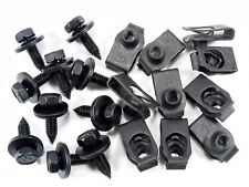 Honda Body Bolts & U-nut Clips- M6-1.0mm x 20mm Long- 10mm Hex- Qty.10 ea.- #140