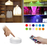 13 Colors Under Cabinet Light Touch Sensor LED Stair Hallway Lights For Wardrobe