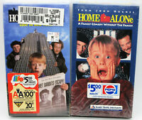 HOME ALONE 1 & 2 VHS Family Friendly Christmas Classics Unedited Donald J Trump