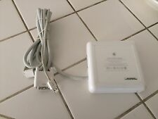 Apple White A1006 EMC 1918 DVI to ADC Display Monitor Adapter Model Power 100-24