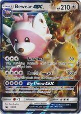 Pokemon Promo Bewear GX Jumbo 8 Inch Holo Card