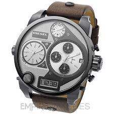 * nuevo * Para Hombre Diesel Digital Cuarzo de gran tamaño de la SBA Reloj-dz7126-RRP £ 279