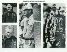 Bear Bryant Sport Archive Photo 8x10 Alabama