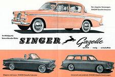 Singer - Gazelle -  Prospekt + Preisliste -  1961 - Deutsch - nl-Versandhandel