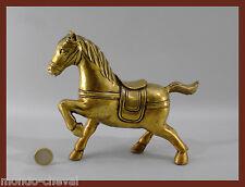 RARE !  ANCIENNE  STATUETTE CHEVAL  en cuivre, Mongolie, 19 cm, horse, Pferd