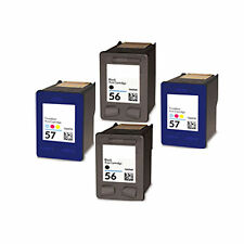 2XHP56+2XHP57 Reman Ink Cart 44% More Ink Office Jet 4110 4110V 4110XI 4215 5500