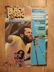 BLACK MUSIC & JAZZ REVIEW ~ JANUARY 1980 ROY AYERS BLACK SLATE BARRINGTON LEVY