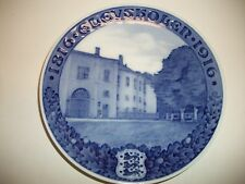 Royal Copenhagen Plate 1915 Army Academy 100Th Yr 683 Made Rc#162 / See Detail