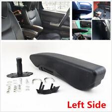 Comfortable PU Leather Truck Seat Armrest Console Box Car Seat Armrest Left Side