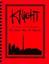 """Forever Knight Fanzine """"The Heart Has It's Reasons"""" GEN Novel"""