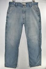 Levi's Carpenter Jeans Mens Loose Straight Size 36x36 Work Pants Meas. 36x36
