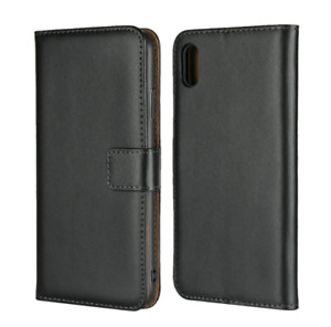 Magnetic PU Leather Book Flip Case Cover / Tempered Glass for iPhone XR