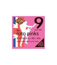 ROTOSOUND R9 ROTO PINK 09/42 CORDIERA PER CHITARRA ELETTRICA