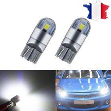 2 VEILLEUSES LED W5W T10 BLANC XENON 12v 2 smd AMPOULE LED auto moto 5000K 💥💥