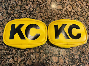 Reproduction KC Yellow Fog Light 5x7 Covers Back To The Future Truck Toyota BTTF