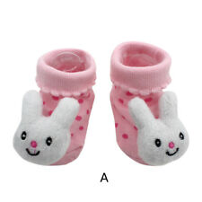 Baby Girl Boy Anti-slip Cotton Socks  Newborn Slipper Shoes Boots 0-12M US