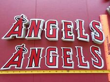 MLB Los Angeles Angels Full Chest Letters Patches 4 in. +/-
