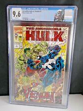 Incredible Hulk Vs. Venom #1 1994 [CGC Graded 9.6] Venom Label Red Foil Logo