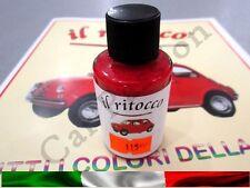 VERNICE RITOCCO SMALTO FIAT 500 CINQUECENTO D'EPOCA ROSSO COD 115 30ml