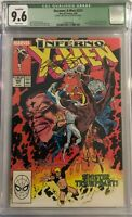 UNCANNY X-MEN #243 - CGC QL 9.6 - Signed by Chris Claremont and Marc Silvestri!