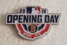Boston Red Sox 2018 Opening Day APRIL 5th Lapel Pin