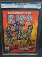 Marvel Comics Super Special #1 CGC 9.8 1977 Kiss Cover! Magazine! G8 123 cm
