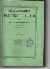 enciclopedia dell'ecclesiastico compilata dall abate voncenzo d avino-vol primo