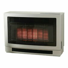 Rinnai Ultima II Inbuilt Gas Flued Home Thermostatic Fireplace Heater Gunmetal