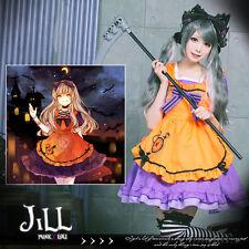 lolita fairytale halloween Lilith vampire bunny Cafe' maid dress w/ apron 81889