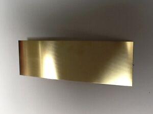 Brass sheet 0.9mm thick 300mm x 100mm