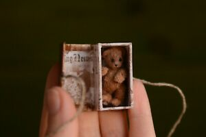 Teddy bear Eddie Miniature OOAK