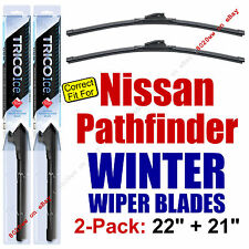 WINTER Wiper Blades 2-Pack Premium - fit 1996-2003 Nissan Pathfinder - 35220/210