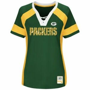 NFL Green Bay Packers Majestic 2017 Draft Me Fashion Top - Women's T-Shirt