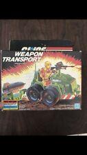 Gi Joe Sealed box  misb Weapons Transport 1985 Hasbro vehicle Triple Win