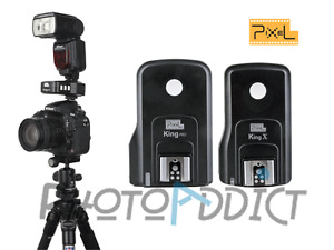 Clearance - 50% ! PIXEL King Pro Transmitter/Receiver Canon - Trigger Flash