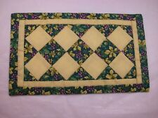 """World of Miniature Bears  4""""x7"""" Quilt #751A  Collectible Miniature"""