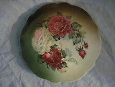 Gorgeous Z. S. Co. Bavaria PINK ROSE DESIGN Scalloped Edge Plate
