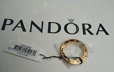 Genuine Pandora Imagine Gold Tone Steel Watch Bezel w 12 Diamonds 872006 New !!