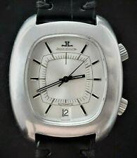 Jaeger LeCoultre Memovox alarma e872 vintage elegante Automatic Men's Watch 1970's