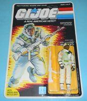 *RECARDED* 1986 GI Joe Iceberg v1 Figure Complete Sealed *CUSTOM File Card Back*
